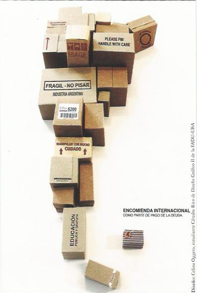 Encomienda Internacional - Como Parte de la deuda
