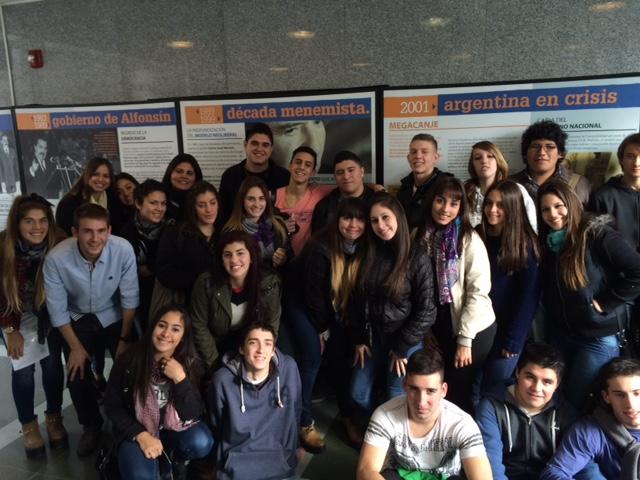 La Escuela de Comercio N°15 visitó el Museo