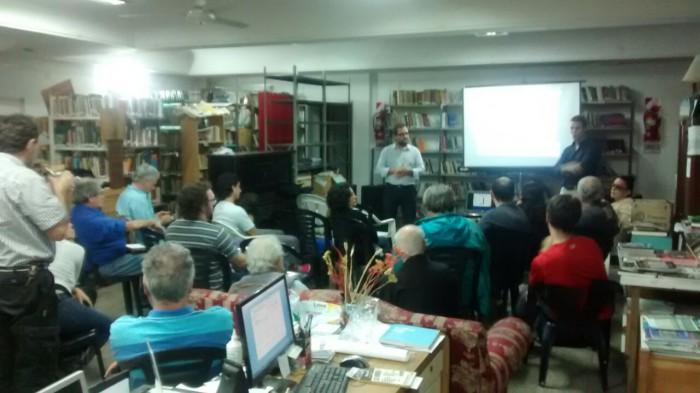Voluntarios del Museo dieron una charla en Biblioteca Popular