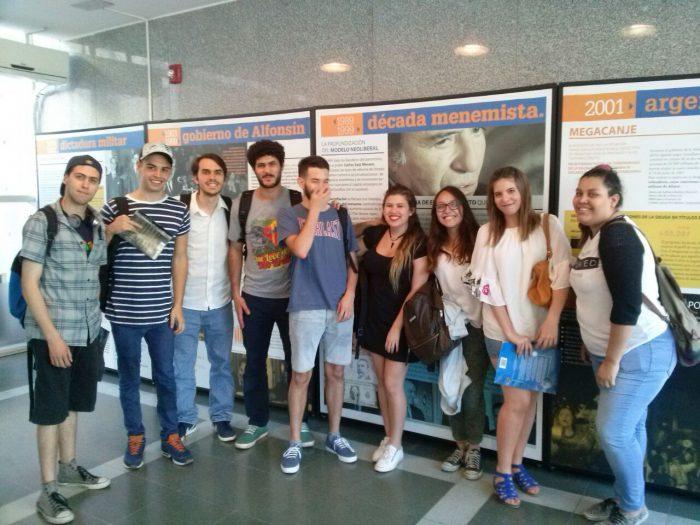 Estudiantes de periodismo visitaron el Museo