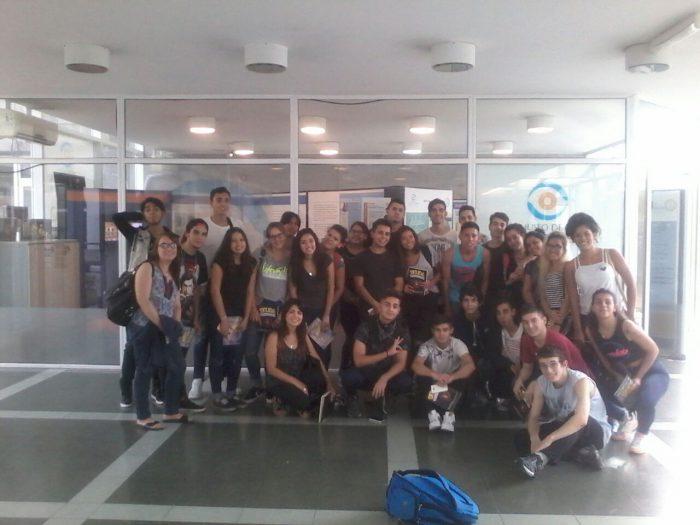 Visita de la Escuela de Comercio N°15