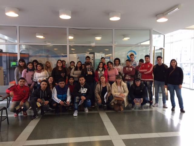 El Instituto EES N°10 visitó el MDE