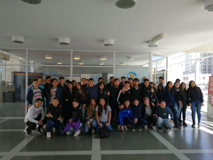 El Instituto Nuestra Señora de las Gracias visitó el MDE