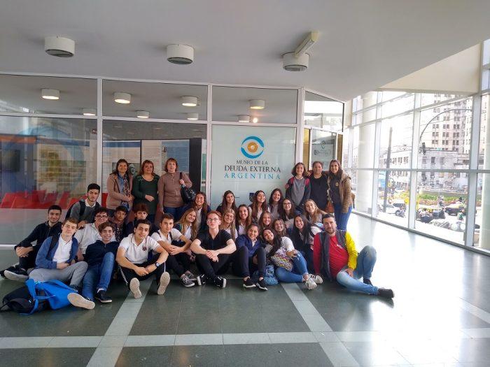 Colegio Santa Unión visita el museo