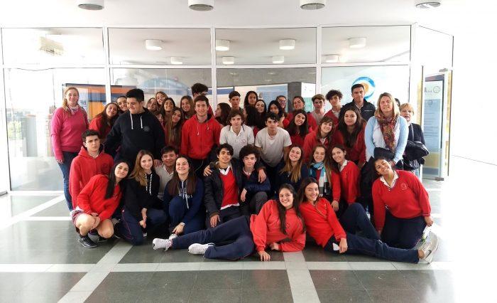 El Colegio Santa María recorre el MDE